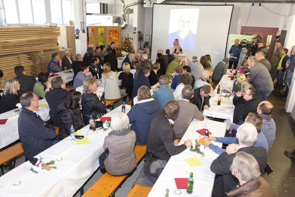 Dornbirn am 2.12.2016 Kaplan Bonetti Arbeitsprojekte Feier